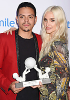 SANTA MONICA, CA - SEPTEMBER 09:  Actor-musician Evan Ross (L) and singer-songwriter Ashlee Simpson-Ross attend Operation Smile's Annual Smile Gala at The Broad Stage on September 9, 2017 in Santa Monica, California.<br /> CAP/ROT<br /> &copy;ROT/Capital Pictures