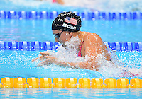 August 04, 2012..Rebecca Soni competes in Women's 4x100m Medley Relay at the Aquatics Center on day eight of 2012 Olympic Games in London, United Kingdom.