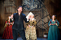 The City Madam by Philip Massinger. A Royal Shakespeare Company Production directed by Dominic Hill. With Jo Stone-Fewings as Luke Frugal ,Sara Crowe as Lady Frugal,Matti Houghton as Mary,Lucy Briggs-Owen as Anne.Opens at The SwanTheatre  ,Stratford Upon Avon on 10/5/11  CREDIT Geraint Lewis