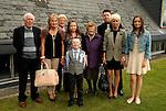 Zak Cooney photographed with his Mam Tina, Dad Stephen, Grandad Pat McAuley, Nan Kathleen McAuley, SisterMegan, Great Grandma Maureen McAuley and cousin Shanis Stevens after making his first Holy Communiuon at Julianstown on Saturday.