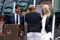 Tony Estanguet, Nicole Kidman - Internationaux de france de tennis de Roland Garros 2017 - Finale MESSIEURS
