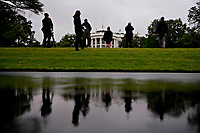 The White House stands past the South Lawn in Washington, D.C., U.S., on Friday, May 22, 2020. United States President Donald J. Trump didn't wear a face mask during most of his tour of Ford Motor Co.'s ventilator facility Thursday, defying the automaker's policies and seeking to portray an image of normalcy even as American coronavirus deaths approach 100,000. <br /> Credit: Andrew Harrer / Pool via CNP /MediaPunch