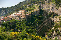 Cerchiara, Calabria, May 2007. Cerchiara village is one of the many picturesque villages that line the mountain slopes of Pollino National Park. Photo by Frits Meyst/Adventure4ever.com