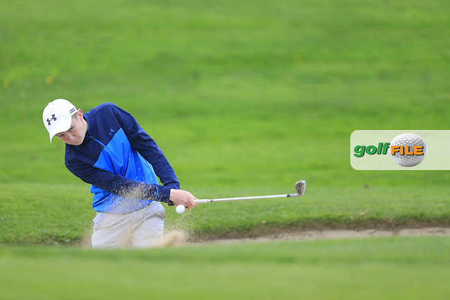 Aaron Marshall (Lisburn) during the final round of the Leinster Boys amateur open championship, Headford Golf Club, Kells, Co. Meath. 21/04/2017.<br /> Picture: Golffile | Fran Caffrey<br /> <br /> <br /> All photo usage must carry mandatory copyright credit (&copy; Golffile | Fran Caffrey)