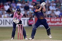 Daniel Lawrence of Essex in batting action during Essex Eagles vs Middlesex, Vitality Blast T20 Cricket at The Cloudfm County Ground on 6th July 2018
