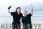 At the Ballyheigue Summer Festival King of the Beach Run on Monday were Samantha Cronin and Natasha O Donoghue