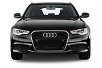 Straight front view of a 2014 Audi A6 AVUS 5 Door Wagon 2WD