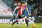 Getafe's Wanderson (l) and Athletic de Bilbao's Javi Eraso during La Liga match. January 30,2016. (ALTERPHOTOS/Acero)