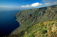 Spanien, Kanarische Inseln, El Hierro, Blick vom Mirador de Isora