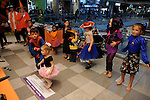 Kids dance at the Little Galleria Halloween Spooktacular presented by MD Anderson Children's Cancer Hospital at The Galleria Sunday Oct. 30,2016.(Dave Rossman photo)