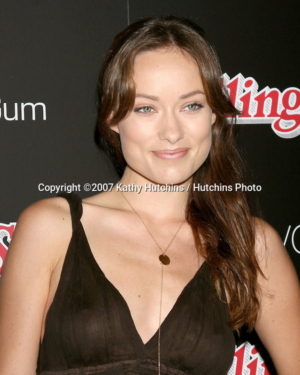 Olivia Wilde.Rolling Stone Hot 2007 Party.Opera & Crimson.Los Angeles,   CA.October 4, 2007.©2007 Kathy Hutchins / Hutchins Photo...               .