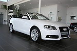 Audi A3 Cab at Western Motors...Photo NEWSFILE/Jenny Matthews.(Photo credit should read Jenny Matthews/NEWSFILE)....This Picture has been sent you under the condtions enclosed by:.Newsfile Ltd..The Studio,.Millmount Abbey,.Drogheda,.Co Meath..Ireland..Tel: +353(0)41-9871240.Fax: +353(0)41-9871260.GSM: +353(0)86-2500958.email: pictures@newsfile.ie.www.newsfile.ie.FTP: 193.120.102.198.