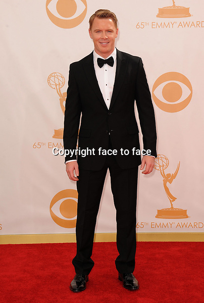 Diego Klattenhoff arrives at the 65th Primetime Emmy Awards at Nokia Theatre on Sunday Sept. 22, 2013, in Los Angeles.<br /> Credit: MediaPunch/face to face<br /> - Germany, Austria, Switzerland, Eastern Europe, Australia, UK, USA, Taiwan, Singapore, China, Malaysia, Thailand, Sweden, Estonia, Latvia and Lithuania rights only -