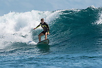 Namotu Island Resort, Nadi, Fiji (Saturday, February 24 2018): The wind was light from the ESE most of the day and the swell had remained in the 3'- 5' range from the South West. Cloudbreak was a solid 6'  while Namotu Lefts, Swimming Pools and Wilkes were the pick spots for the guests.   Photo: joliphotos.com