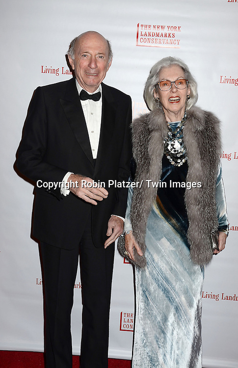Donald and Barbara Tober  arrives at the  New York Landmarks Conservancy's  2012 Living Landmarks Gala on November 8, 2012 at the Plaza Hotel in New York City. The honorees were Daniel Boulud, Liza Minnelli, James M Nederlander, James L Nederlander and John Rosenwald, Jr, and Peter Malkin.