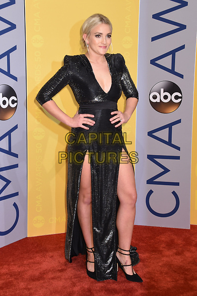 02 November 2016 - Nashville, Tennessee - Jamie Lynn Spears. 50th Annual CMA Awards. Then. Now. Forever Country. 2016 CMA Awards, Country Music's Biggest Night. Arrivals held at Music City Center. <br /> CAP/ADM/LF<br /> &copy;LF/ADM/Capital Pictures