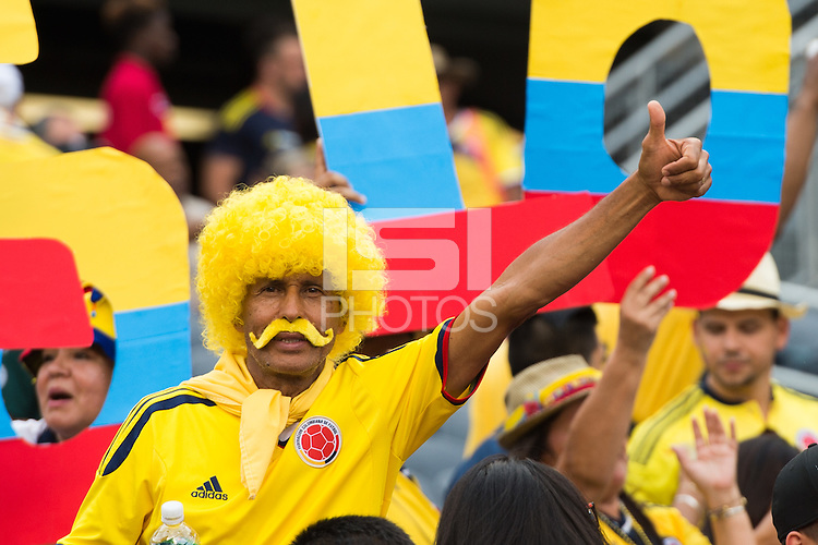 Photo before the match Colombia vs Chile, corresponding to the semifinals of the America Cup Centenary 2016, at Soldier Field Stadium.<br /> <br /> Foto previo al partido Colombia vs Chile correspondiente a la Semifinales de la Copa America Centenario 2016, en el Estadio Soldier Field, en la foto: Fans<br /> <br /> <br /> 22/06/2016/MEXSPORT/Jorge Martinez