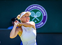 London, England, 2 th July, 2018, Tennis,  Wimbledon, Caroline Wozniacki (DEN)<br /> Photo: Henk Koster/tennisimages.com