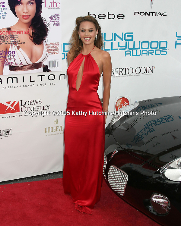 "Josie Maran.26th ""Young Hollywood Awards"".Henry Fonda Theater.Hollywood, CA.May 1, 2005.©2005 Kathy Hutchins / Hutchins Photo"