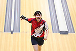 Mirai Ishimoto (JPN), <br /> AUGUST 24, 2018 - Bowling : <br /> Women's Team of Six Block2 <br /> at Jakabaring Sport Center Bowling Center <br /> during the 2018 Jakarta Palembang Asian Games <br /> in Palembang, Indonesia. <br /> (Photo by Yohei Osada/AFLO SPORT)