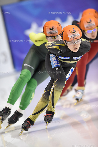 Yuki Kikuchi (JPN), <br /> FEBRUARY 11, 2015 - Short Track : <br /> 27th Winter Universiade Granada 2015 <br /> Short Track Women's 1500m B Final <br /> at Universiade Igloo, Granada, Spain. <br /> (Photo by AFLO SPORT) [1220]