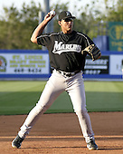 April 2, 2004:  Third baseman Miguel Cabrera of the Florida Marlins organization during Spring Training at Tradition Field in St. Lucie, FL.  Photo copyright Mike Janes/Four Seam Images