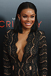 """Actress Crystle Stewart arrives on the red-carpet for Tyler Perry""""s ACRIMONY movie premiere at the School of Visual Arts Theatre in New York City, on March 27, 2018."""