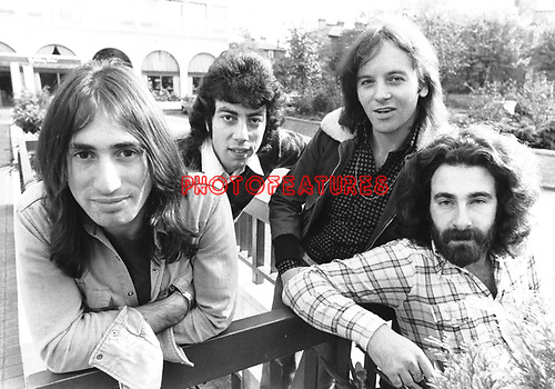 10cc  1973  Lol Creme, Graham Gouldman, Eric Stewart and Kevin Godley<br /> &copy; Chris Walter