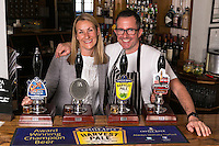 Sarah and Mark Anderson, licencees of The Ruddington Arms, Ruddington, Nottingham