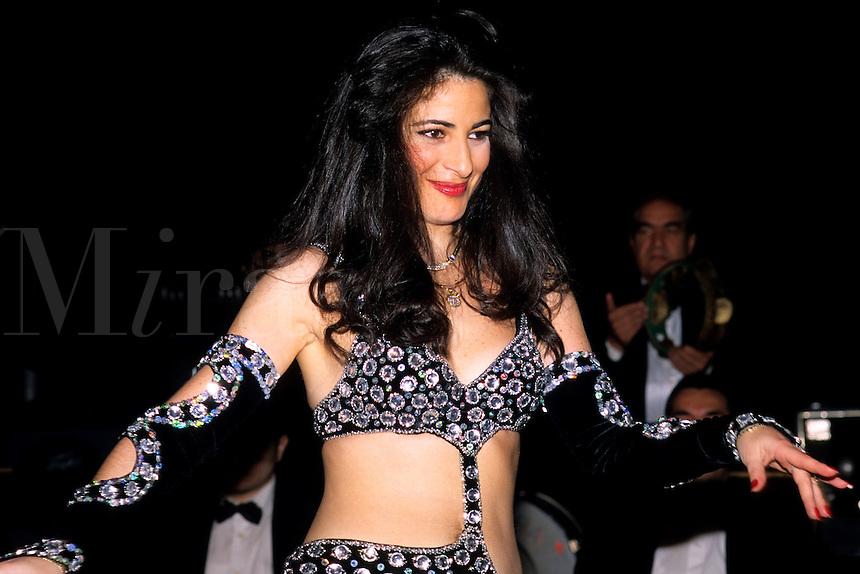 Beautiful sexy belly dancer in Istanbul Turkey
