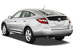 Rear three quarter view of a 2012 Honda Crosstour EXL