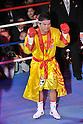 Suriyan Sor Rungvisai (THA),.MARCH 27, 2012 - Boxing :.Suriyan Sor Rungvisai of Thailand poses before the WBC super flyweight title bout at Korakuen Hall in Tokyo, Japan. (Photo by Hiroaki Yamaguchi/AFLO)