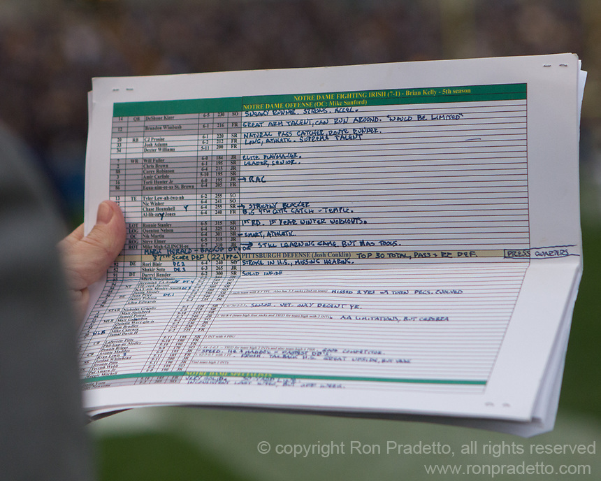 Todd Mcshay Player Notes Ron Pradetto Photography