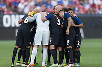 Frisco, TX. - May 25, 2016: The U.S. Men's national team defeat Ecuador 1-0 in an international friendly match at Toyota Stadium.