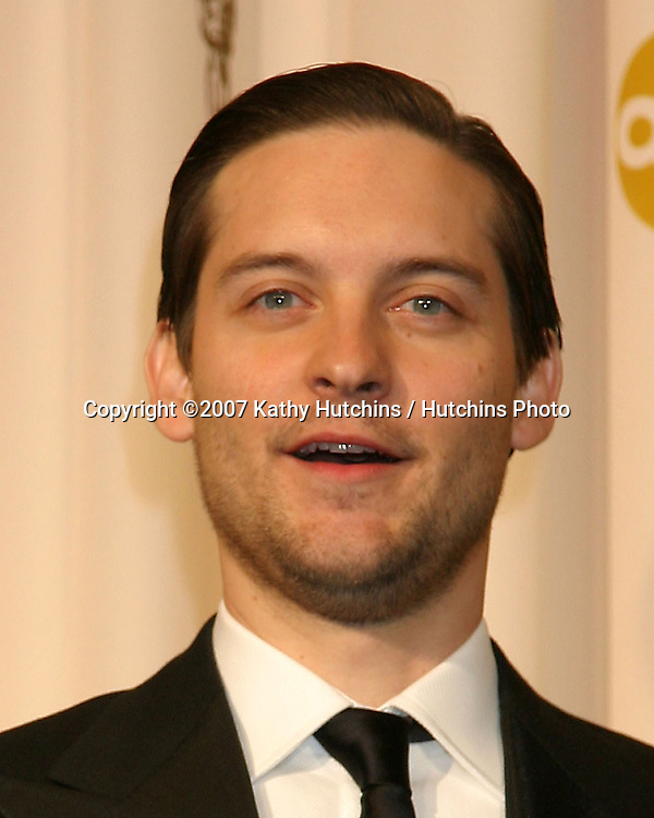 Tobey Maguire.79th Annual Academy Awards.Kodak Theater .Hollywood & Highland.Hollywood, CA.February 25, 2007.©2007 Kathy Hutchins / Hutchins Photo....