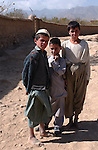 Paghman, Afghanistan; October 24, 2002 -- Children, boys from rural area; People, Portrait -- Photo: © HorstWagner.eu