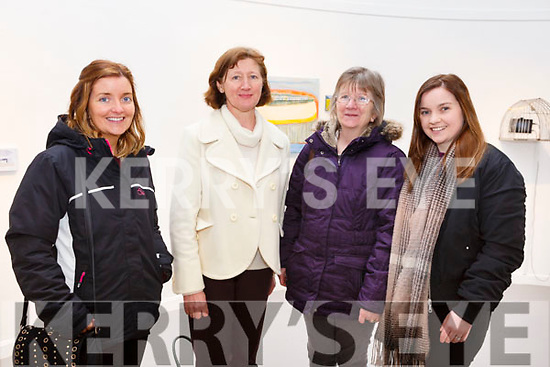 Siobhan Dwyer, Ann Carney, Sheila Dwyer and Clare Dwyer all from Ardfert, attending the Kerry School of Music's Ballet Spectacular show in Siamsa Tire on Sunday afternoon last.