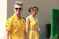 1st December 2019; Yas Marina Circuit, Abu Dhabi, United Arab Emirates; Formula 1 Abu Dhabi Grand Prix, race day; Renault Sport F1 Team, Nico Hulkenberg - Editorial Use