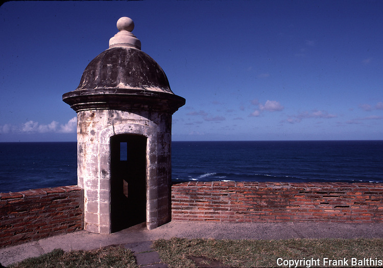 Guardhouse at El Morro Castle