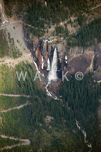 Bridal Veil Falls, Telluride, Colorado.  June 2013