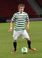 Patrik Twardzik in the Dunfermline Athletic v Celtic Scottish Football Association Youth Cup Final match played at Hampden Park, Glasgow on 1.5.13. ..