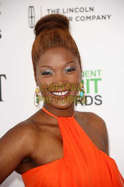 SANTA MONICA, CA - March 01: Yolanda Ross at the 2014 Film Independent Spirit Awards Arrivals, Santa Monica Beach, Santa Monica,  March 01, 2014. Credit: Janice Ogata/MediaPunch<br /> CAP/MPI/JO<br /> &copy;JO/MPI/Capital Pictures
