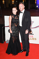 Ola and James Jordan<br /> at the Millies 2016, Guildhall, London.<br /> <br /> <br /> &copy;Ash Knotek  D3212  14/12/2016