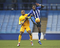 Preston North End's Darnell Fisher  battles with  Sheffield Wednesday's Lucas Joao<br /> <br /> Photographer Mick Walker/CameraSport<br /> <br /> The EFL Sky Bet Championship - Sheffield Wednesday v Preston North End - Saturday 22nd December 2018 - Hillsborough - Sheffield<br /> <br /> World Copyright &copy; 2018 CameraSport. All rights reserved. 43 Linden Ave. Countesthorpe. Leicester. England. LE8 5PG - Tel: +44 (0) 116 277 4147 - admin@camerasport.com - www.camerasport.com