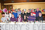 18th Birthday : Louise Roche, Brosna celebrating her 18th birthday with famoily & friends al Leen,s Hotel, Abbeyfeale on Saturday night last. Front : Kevin Stack, Eileen Dennehy, Margaret, Louise, John & Tom Roche. Back : Elaine Dennehy, Elaine Roche, Anthony & William Dennehy, Kay Roche, Breda Leahy, John Roche & Jim Leahy.