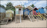 BNPS.co.uk (01202 558833)<br /> Pic: BeltonDuffey/BNPS<br /> <br /> A tiny empty beach hut on one of Britain's best beaches has gone on the market for &pound;60,000 - a whopping &pound;2,500 per square foot.<br /> <br /> The colourful 6ft by 4ft wooden hut has no services, a five-minute walk to the nearest toilet and the new owners can only use it during the day, not for overnight stays.<br /> <br /> But while the price tag might seem steep for the shed-like property, its place on the beach at Wells-next-the-Sea, Norfolk, makes it a valuable investment.