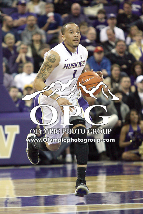Mar 05, 2011:  Washington's #1 Venoy Overton brings the ball down court against USC.  USC defeated Washington 62-60 at Alaska Airlines Arena Seattle, Washington...