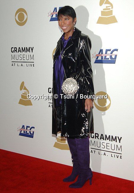Natalie Cole   - <br /> The GRAMMY Nominations Concert Live!! &mdash; Countdown To Music's Biggest Night at the Nokia Theatre in Los Angeles.