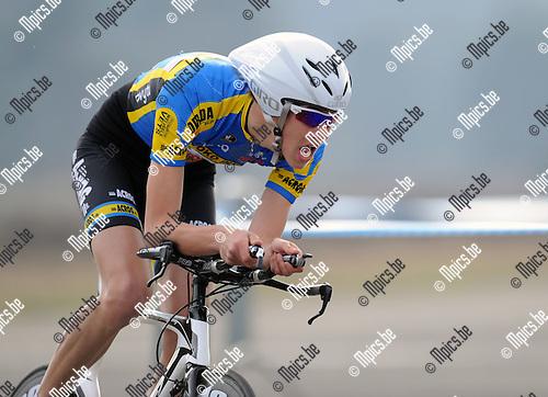 2012-04-03 / Wielrennen / seizoen 2012 / PK Tijdrijden Antwerpen / Garrouse Keanu..Foto: Mpics.be