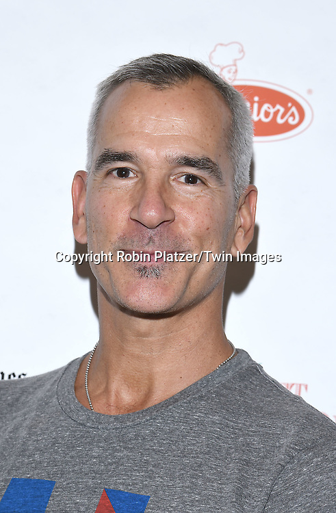 Jerry Mitchell attends the Broadway Cares/Equity Fights Aids Flea Market and Grand Auction on September 25, 2016 at the Music Box Theatre and in Shubert Ally in New York, New York, USA. <br /> <br /> photo by Robin Platzer/Twin Images<br />  <br /> phone number 212-935-0770